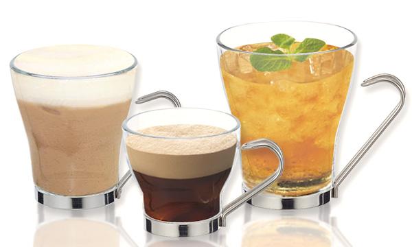 Čaša za kafu i čaj Oslo,zapremina 10 cl, 23,5 cl, 32,5 cl