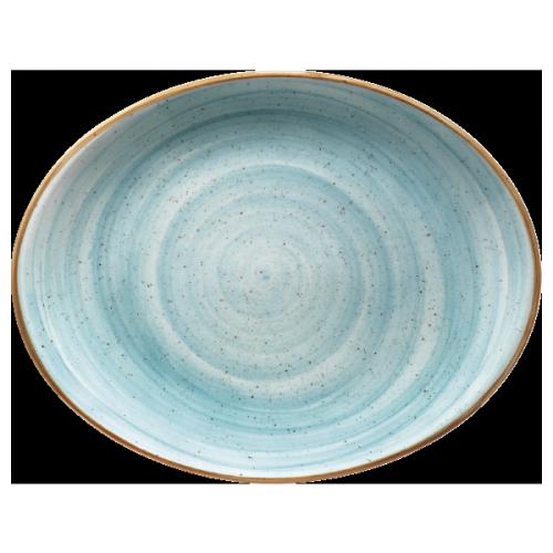 Aura aqua oval 31 x 24 cm