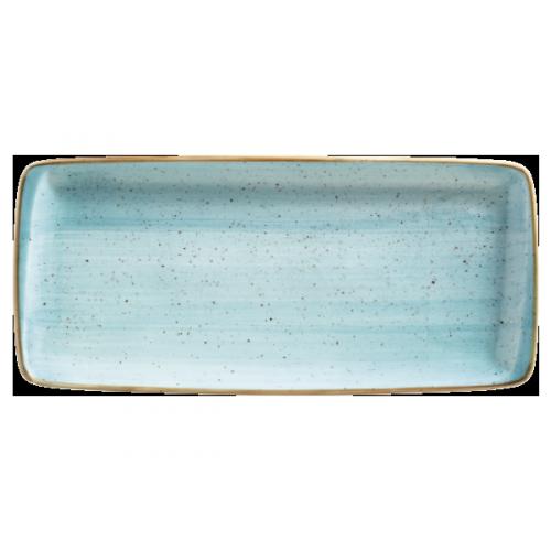 Aura aqua pravougaoni tanjir 34 x 16 cm
